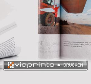"""Der neue """"Print-Button"""" von viaprinto macht das Veröffentlichen von Dokumenten jetzt noch einfacher."""