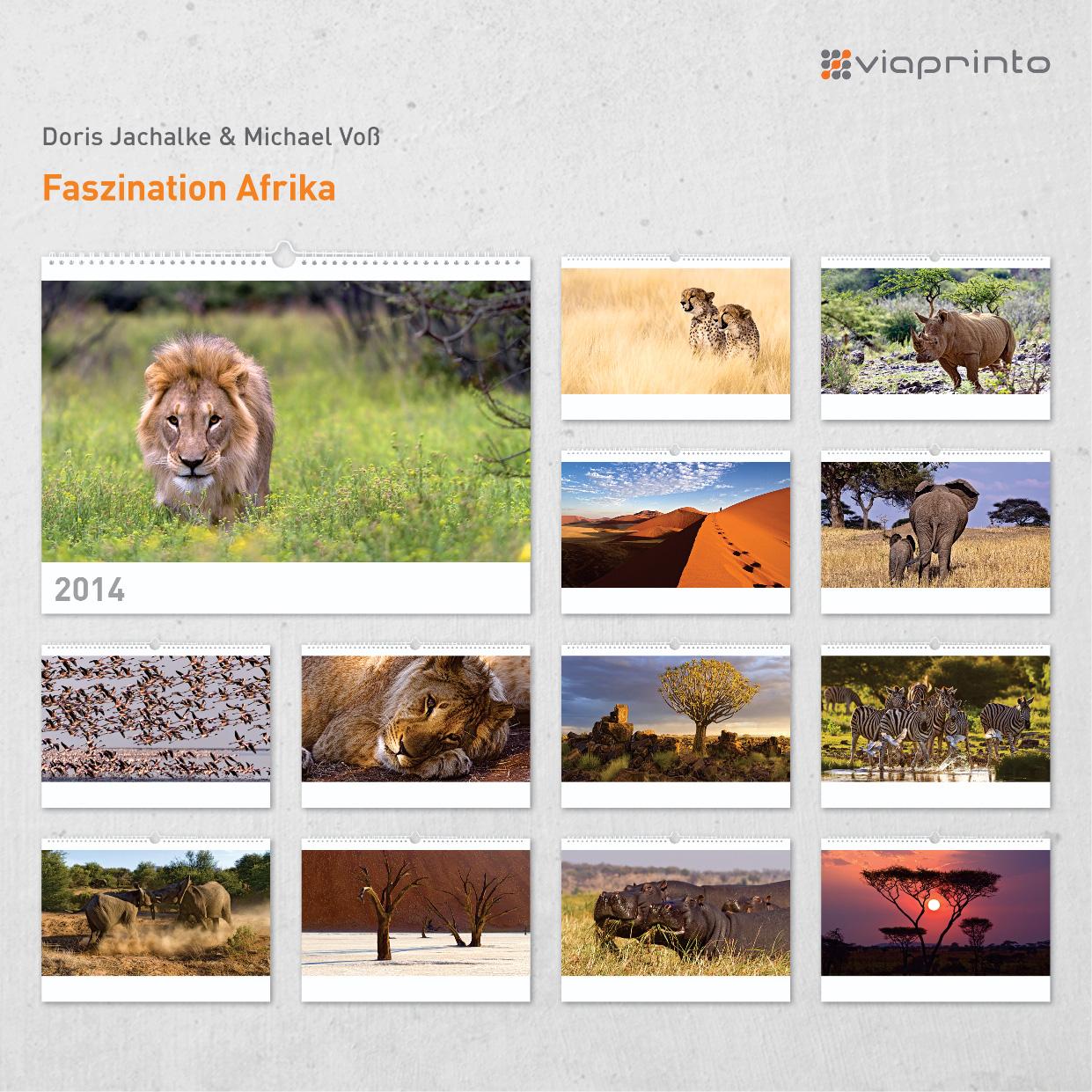 """Doris Jachalke und Michael Voß """"Faszination Afrika"""""""