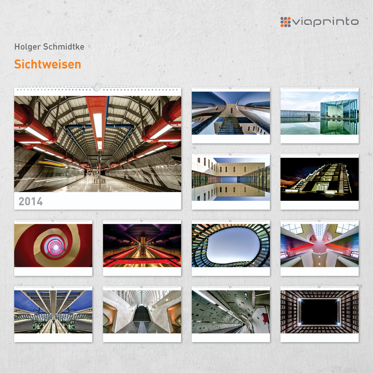 "Holger Schmidtke Motivkalender ""Sichtweisen"""
