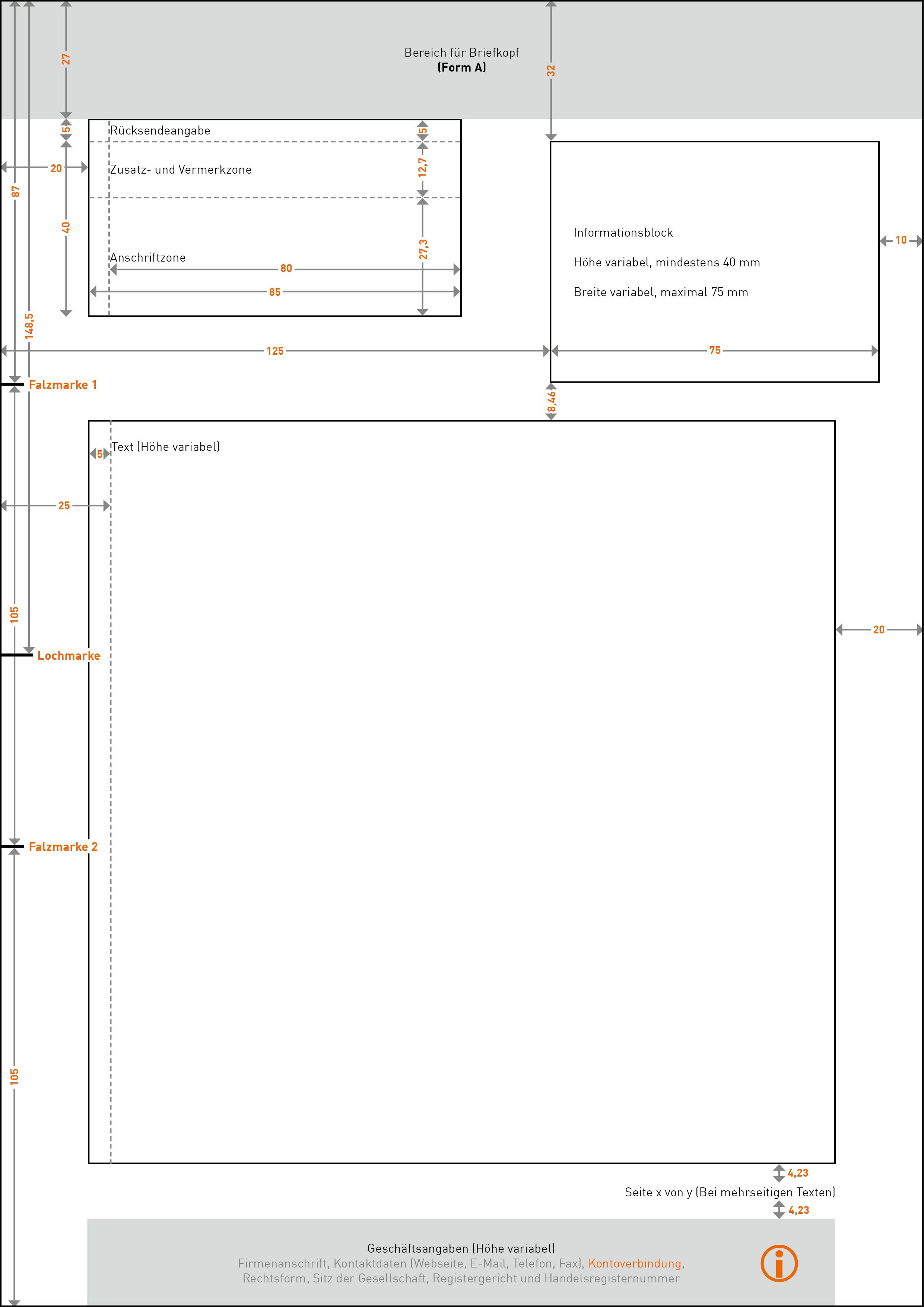 DIN5008 Form a