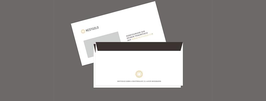 Briefumschläge Gestalten Viaprinto Blog