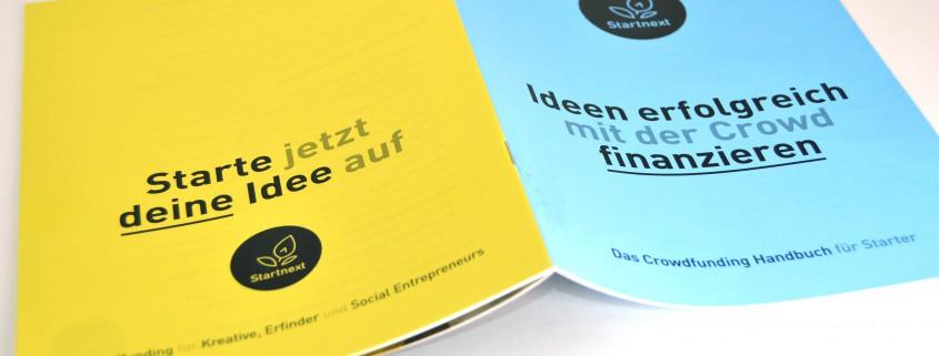 Startnext Broschüre viaprinto