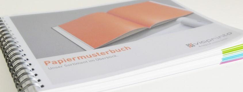 Papiermusterbuch viaprinto
