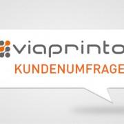 Umfrage-Werbetechnik ©viaprinto
