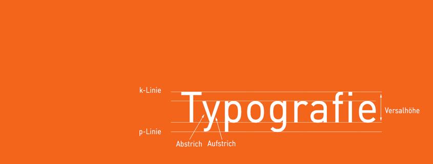 Blog Titel Typografie ©viaprinto