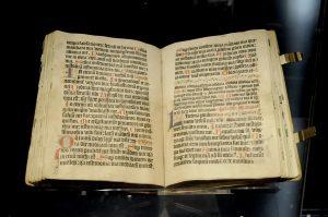 Gutenberg_Bibel © viaprinto Flickr_Brandbook.de