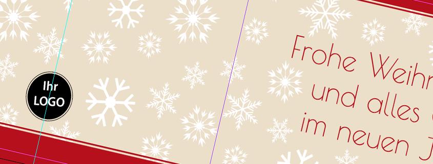 tutorial-weihnachtskarte ©viaprinto
