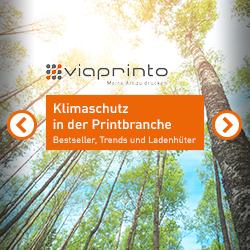 viaprinto | Klimaschutz in der Printbranche