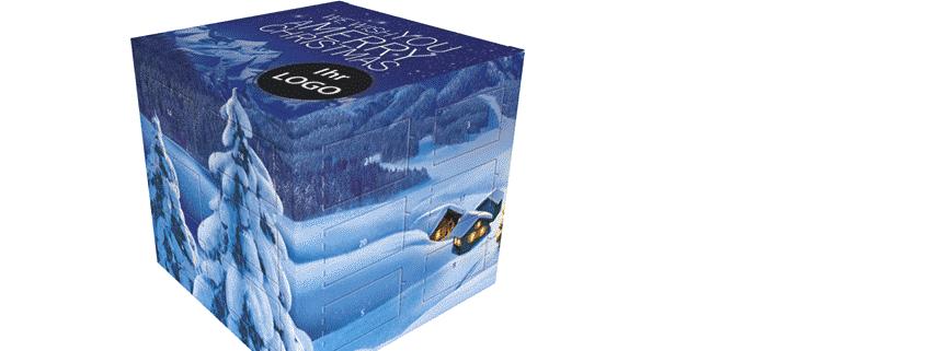 in 10 schritten zum adventskalender lindt cube viaprinto blog alles ber den druck. Black Bedroom Furniture Sets. Home Design Ideas