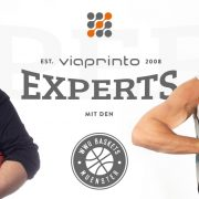 Blogheader viaprinto experts: Magnus und Kai