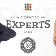 Blogheader viaprinto experts: Thorben und Leo