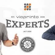 Blogheader viaprinto experts: Simon und Atilla