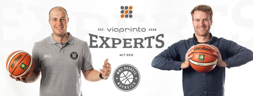 Blogheader viaprinto experts: Simon und Atilla