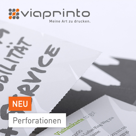 Perforationen bei viaprinto