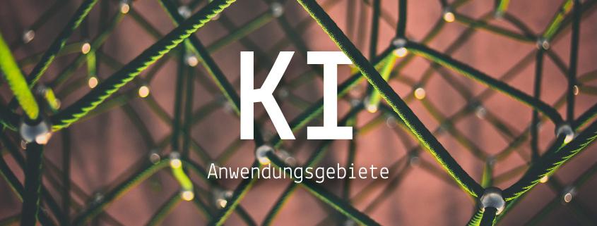 """Blogheader """"Künstliche Intelligenz und ihre Anwendungsgebiete im Mediendesign"""""""