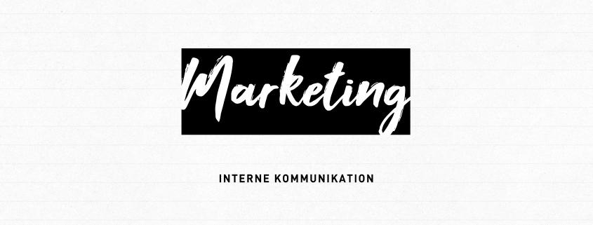 """Blogheader Marketing-Reihe """"Interne Kommunikation"""""""