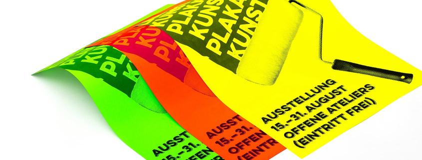 Blogheader Veranstaltungen / Neon-Plakate