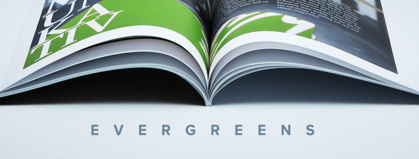 Blogheader Evergreens bei viaprinto