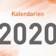 Kalendarien 2020 zum Download verfügbar