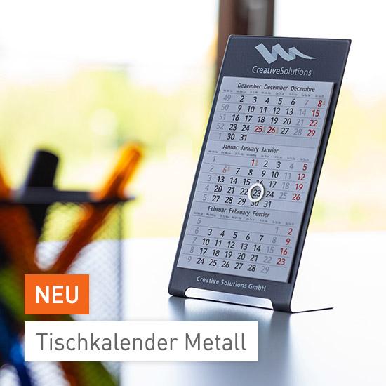 Tischkalender Metall bei viaprinto