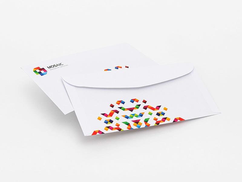 Rückseite Briefumschläge