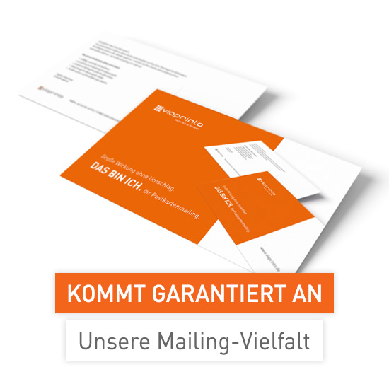 Directmailings mit viaprinto