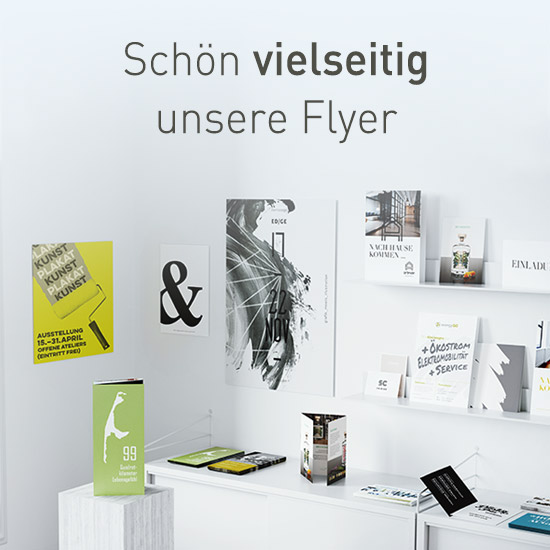 Flyer bei viaprinto