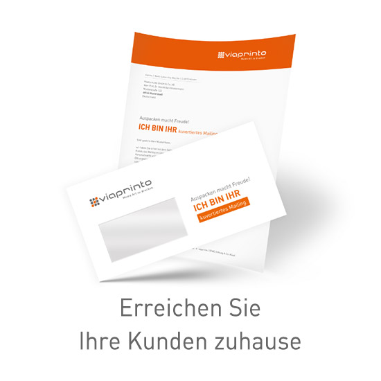 Mailings bei viaprinto