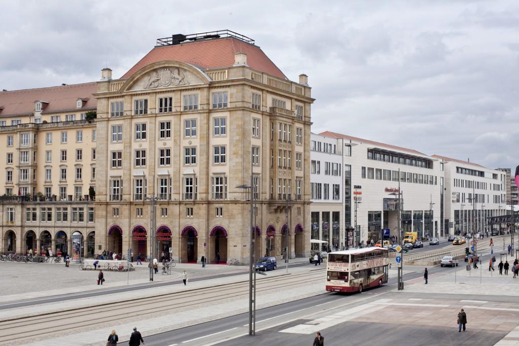 Altmarkt-Galerie Dresden Aussenansicht der Erweiterung