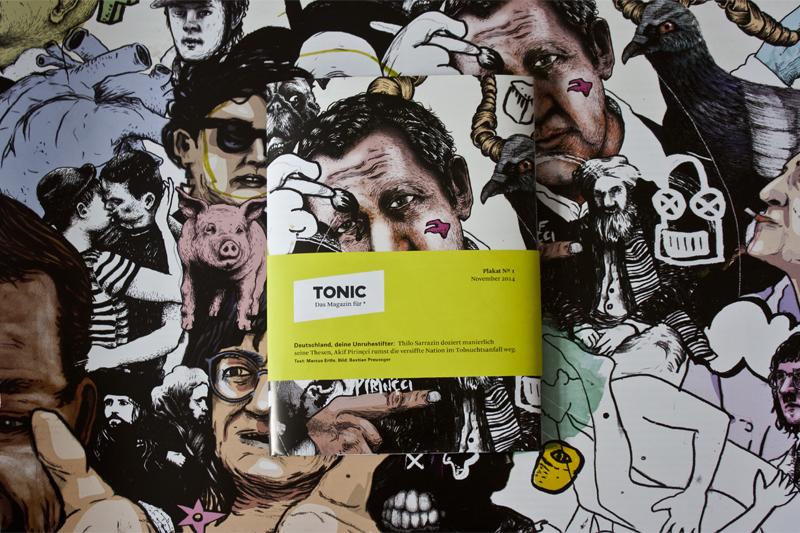 """""""Deutschland, Deine Unruhestifter"""" die November Ausgabe und Plakat N°1"""
