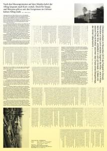 """""""Doppelte Realität"""", Rückseite Plakat N° 2"""