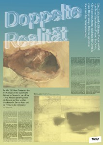 """""""Doppelte Realität"""", Cover Plakat N°1"""