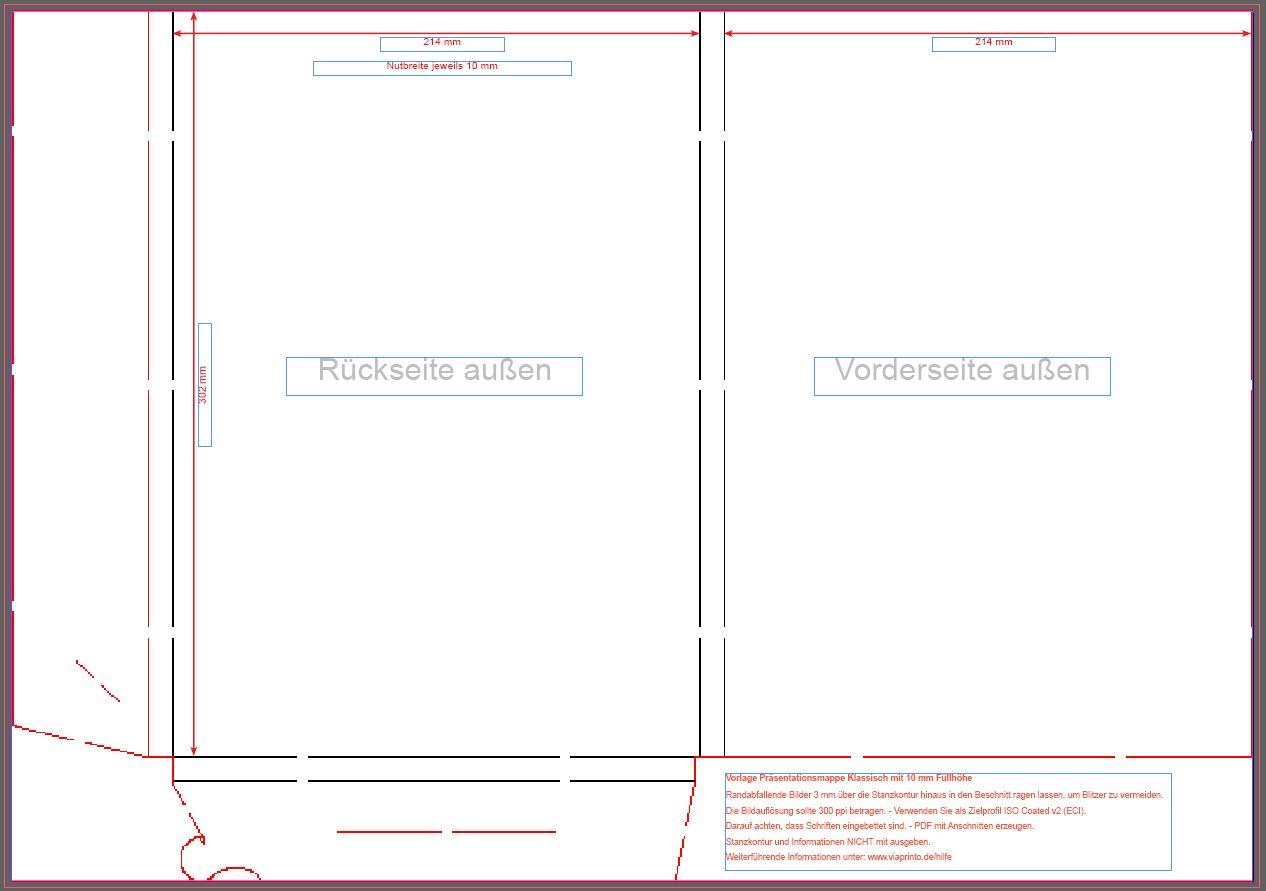 Vorlagen für die Mappen | viaprinto Blog
