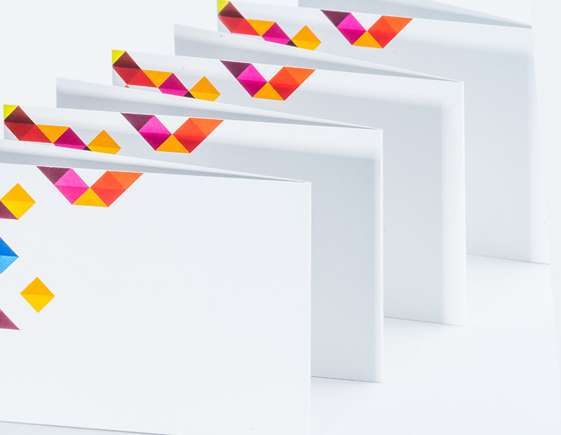 Klappvisitenkarten Drucken Viaprinto Druckerei